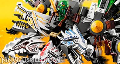 Spielen Lego Ninjago Drache