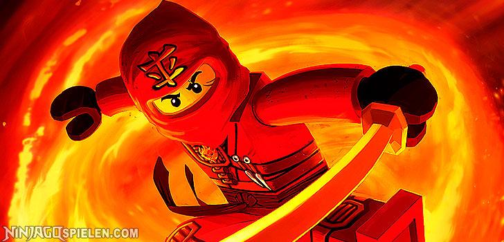 lego ninjago kai beschreibung des roten ninja kai elementarma stab des feuers. Black Bedroom Furniture Sets. Home Design Ideas