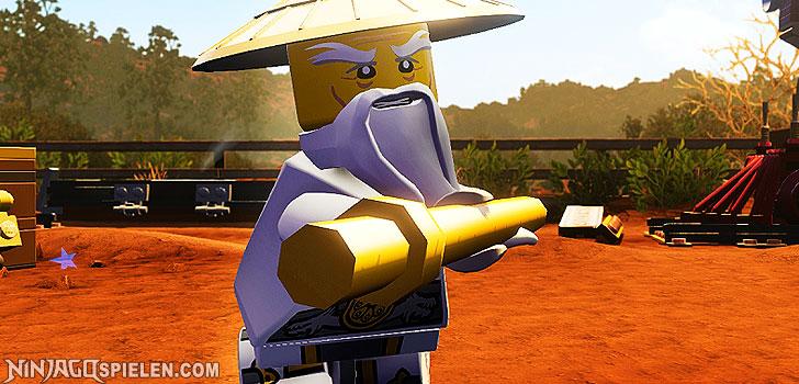 LEGO Master Wu